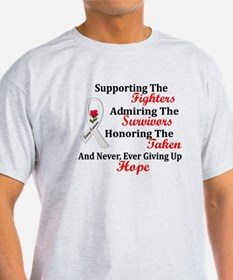 Support Admire Honor 2 PEARL T-Shirt