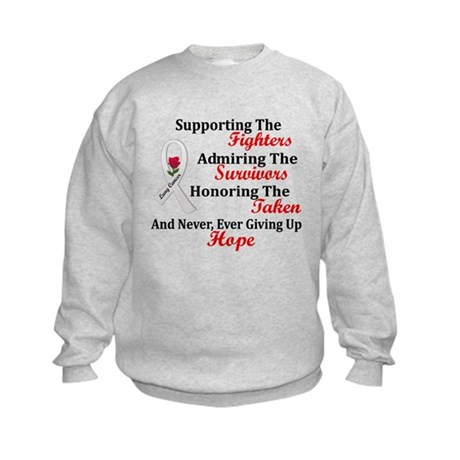 Support Admire Honor 2 PEARL Kids Sweatshirt