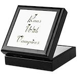 Runs with Vampires Keepsake Box