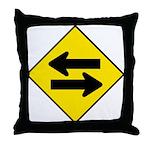 Goes both ways - Throw Pillow