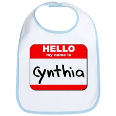 Hello my name is Cynthia Bib