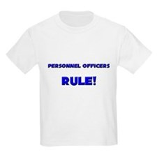 Personnel Officers Rule! T-Shirt