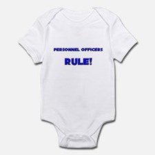 Personnel Officers Rule! Infant Bodysuit