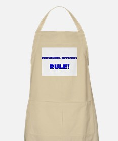 Personnel Officers Rule! BBQ Apron