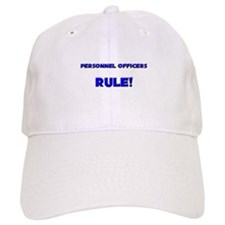 Personnel Officers Rule! Baseball Cap
