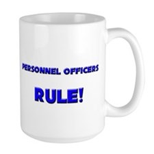 Personnel Officers Rule! Mug