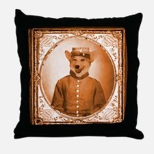 Welsh Corgi BEAUREGARD Throw Pillow