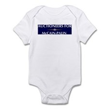 AUCTIONEERS for McCain-Palin Infant Bodysuit