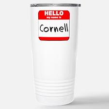 Hello my name is Cornell Travel Mug