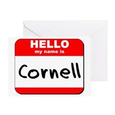 Hello my name is Cornell Greeting Card
