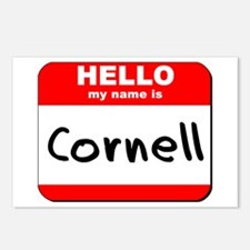 Hello my name is Cornell Postcards (Package of 8)