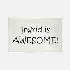Unique Ingrid Rectangle Magnet
