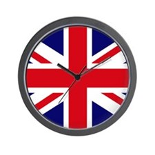 British Flag Union Jack Wall Clock