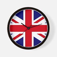British Flag Union Jack Wall Clock