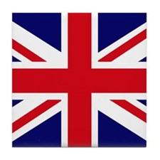 British Flag Union Jack Tile Coaster