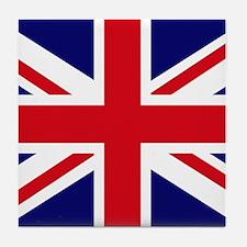 British Flag Union Jack Tile Coaster