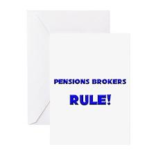 Pensions Brokers Rule! Greeting Cards (Pk of 10)