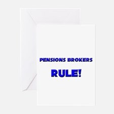 Pensions Brokers Rule! Greeting Cards (Pk of 10)