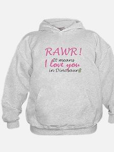 RAWR-Girl Hoodie