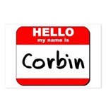 Hello my name is Corbin Postcards (Package of 8)