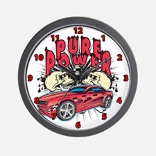 Pure Power Wall Clock