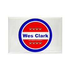 """""""Clark for President"""" Rectangle Magnet"""