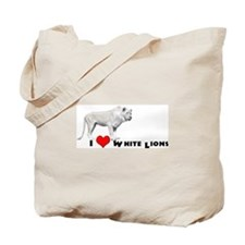 Lufuno the White lion Tote Bag
