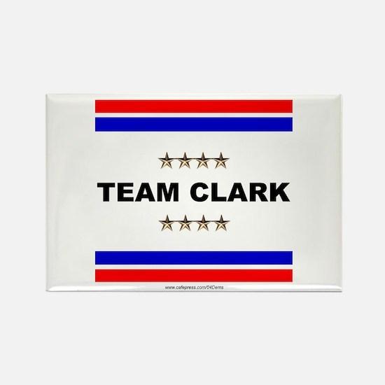 """Team Clark"" Rectangle Magnet"