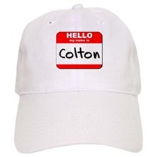 Hello my name is Colton Baseball Cap
