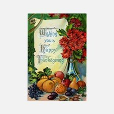 Vintage Happy Thanksgiving Magnets (100 pk)