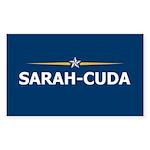 Sarah-Cuda / Sarah Palin 08 Rectangle Sticker 50