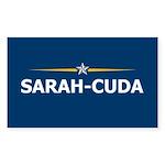 Sarah-Cuda / Sarah Palin 08 Rectangle Sticker 10