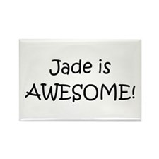 Cute Jade Rectangle Magnet