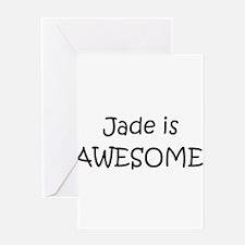 Cute Jade Greeting Card