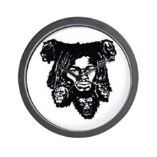 Cute African american men Wall Clock