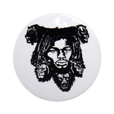 Unique Lion judah Ornament (Round)