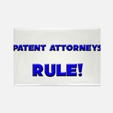 Patent Attorneys Rule! Rectangle Magnet
