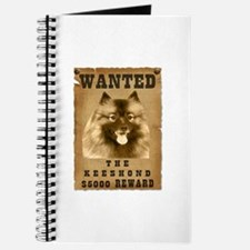 """Wanted"" Keeshond Journal"