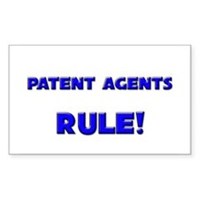 Patent Agents Rule! Rectangle Decal