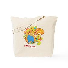 Groovy Keeshond Tote Bag