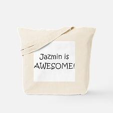 Funny Jazmin Tote Bag