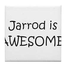 Cool Jarrod name Tile Coaster
