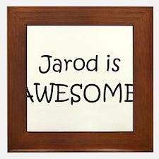 Unique Jarod Framed Tile