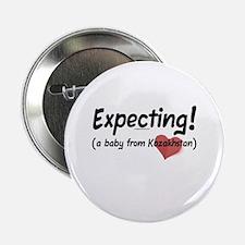 """Expecting! Kazakhstan adoption 2.25"""" Button"""