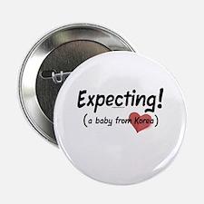 """Expecting! Korea adoption 2.25"""" Button"""