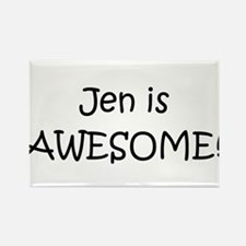 Cute Jen Rectangle Magnet
