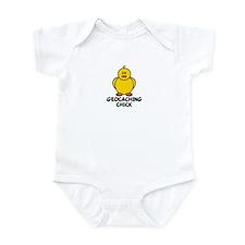 Geocaching Chick Infant Bodysuit
