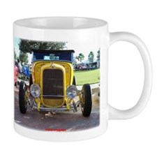 YELLOW HOT ROD Mug
