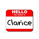 Hello my name is Clarice Postcards (Package of 8)