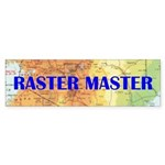 RASTER MASTER - bumper stickers
